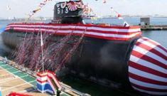 Nhật Bản hạ thủy tàu ngầm 'Cá voi lớn' đối phó TQ
