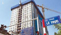 Hoàn thành phá dỡ tầng 18 tòa nhà 8B Lê Trực – Hà Nội