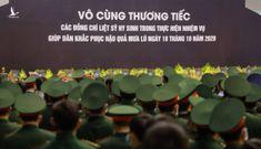 Người thân khóc nghẹn tiễn đưa 22 quân nhân Đoàn 337
