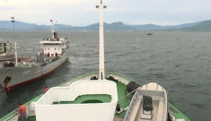 Bất chấp bão lớn, tàu Hải quân Vùng 4 vẫn ra khơi