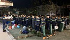 Công an Quảng Nam huy động thêm lực lượng tìm kiếm nạn nhân sạt lở đất