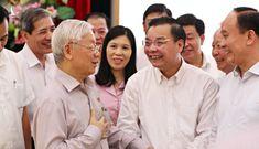 Tổng bí thư, Chủ tịch nước: 'Cán bộ Hà Nội cũng lựa chọn bao nhiêu tinh túy về đây'