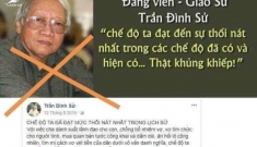"""Về chuyện Giáo sư Trần Đình Sử """"phản giáo"""""""
