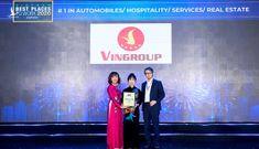 """Tập đoàn Vingroup 6 lần liên tiếp vào top """"100 Nơi làm việc tốt nhất Việt Nam"""""""