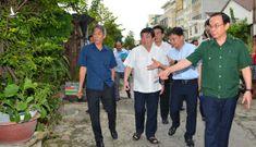Bí thư Thành ủy Nguyễn Văn Nên: Chống ngập cần phải làm đồng bộ