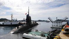 Ba chiến hạm Nhật Bản cập cảng Cam Ranh