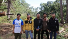 Xác định 6 nghi can triệt hạ rừng phòng hộ ở Lạc Dương, Lâm Đồng