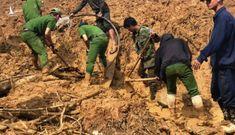 Quảng Nam lại bị sạt lở đất chia cắt nhiều nơi