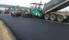Bắt đầu thảm nhựa cao tốc Trung Lương – Mỹ Thuận