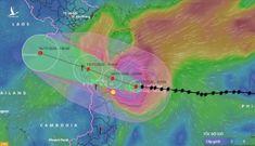 Vì sao bão số 13 tăng lên cấp cuồng phong, giật cấp 17?