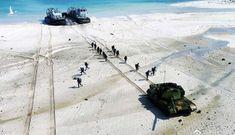Trung Quốc ngang nhiên tập trận đổ bộ ở đảo Tri Tôn của Việt Nam
