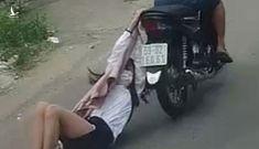 Tên cướp giật kéo lê cô gái trên đường hàng trăm mét ở Bình Tân