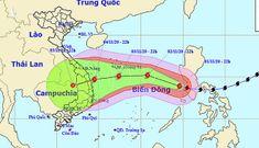 Siêu bão Goni giật cấp 12 tiến thẳng vào miền Trung