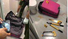 Rùng mình phát hiện thi thể trong valy ở Sài Gòn