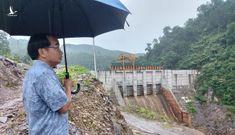 Lợi dụng lúc đoàn giám sát rút về, thủy điện Thượng Nhật lại tích nước trái phép