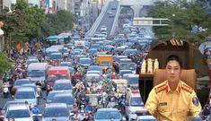 Vành đai 2 trên cao thông xe, 'đường cong mềm mại' càng ùn tắc: CSGT nói gì?