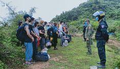 Nơi thu dung 7.000 người nhập cảnh trái phép từ Trung Quốc