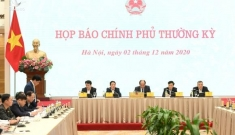 Nội dung trao đổi tại họp báo Chính phủ tháng 11