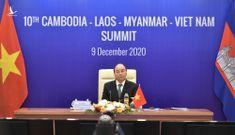 Thủ tướng Nguyễn Xuân Phúc nêu 3 ưu tiên hợp tác CLMV