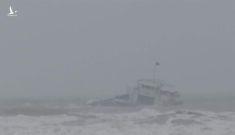 Chìm tàu trên biển Phú Quý, 15 thuyền viên mất tích