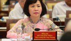 Khai trừ ra khỏi Đảng nguyên thứ trưởng Bộ Công thương Hồ Thị Kim Thoa