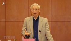 """Tổng bí thư Nguyễn Phú Trọng nói thẳng về tin đồn """"đấu đá nội bộ, tranh giành ghế Đại hội XIII"""""""