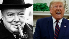 """Winston Churchill và Donald Trump: Hai trụ cột nổi tiếng nhất thế giới đều bị """"bịt miệng"""""""