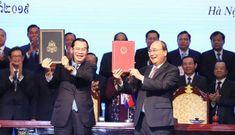 Hai văn kiện 'lịch sử' về biên giới Việt Nam – Campuchia có hiệu lực