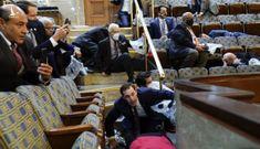 Cận cảnh tòa nhà Quốc hội Mỹ bị tấn công nghiêm trọng chưa từng thấy