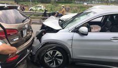 Tai nạn liên hoàn trên cao tốc TP.HCM-Long Thành-Dầu Giây ngày đầu năm mới