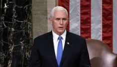 Pence 'không loại trừ' kích hoạt tu chính án 25 phế truất Trump