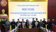 Nguyên Bí thư Thành ủy Bắc Ninh Nguyễn Nhân Chinh được bổ nhiệm làm Giám đốc Sở