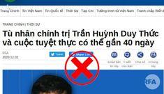 """Nên trao giải """"Người tuyệt thực lâu nhất Việt Nam mà vẫn khỏe mạnh sống sót"""" cho Trần Huỳnh Duy Thức"""