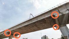 Để dầm metro số 1 cập kênh là lỗi thi công sơ đẳng