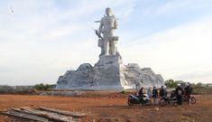 Cận cảnh tượng đài vị anh hùng N'Trang Lơng hơn 167 tỷ đồng ở Đắk Nông
