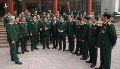Gặp mặt 125 đại biểu Quân đội dự Đại hội XIII