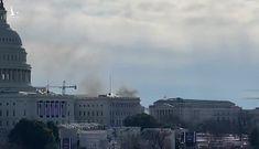 Cháy gần tòa nhà Quốc hội, Mỹ phong tỏa cả Đồi Capitol