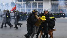 6.000 quân nhân cùng xe bọc thép bảo vệ Đại hội Đảng