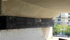 Phát hiện thêm 1 gối cao su tuyến metro số 1 có dấu hiệu bị xẹp, dịch khỏi vị trí