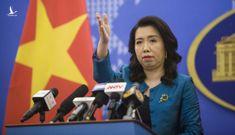 Việt Nam lên tiếng về việc Trung Quốc thông qua Luật Cảnh sát biển