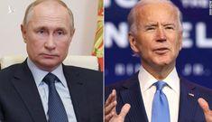 Tiết lộ cuộc điện đàm đầu tiên giữa ông Biden và ông Putin