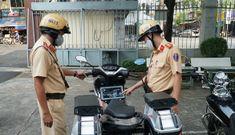 Lực lượng 363 được trang bị xe 'xịn', truy xuất ngay thông tin xe cộ trên đường