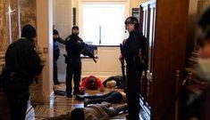 The Hill: Người ủng hộ ông Trump đối đầu cảnh sát Mỹ bên trong tòa nhà quốc hội