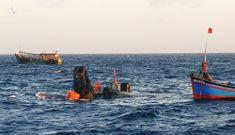 Tìm thấy một thi thể vụ chìm tàu làm 7 người mất tích ở Côn Đảo