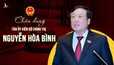 Chân dung tân Ủy viên Bộ Chính trị Nguyễn Hòa Bình