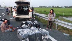 Cặp vợ chồng 'thông chốt', tông xe CSGT trên cao tốc