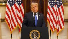 Tổng thống Trump ra thông điệp cuối trước khi rời nhà trắng