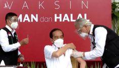 Tổng thống Indonesia tiêm vaccine Covid-19 của Trung Quốc
