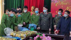 Cận cảnh lô hàng ma túy dạng đá lớn nhất bị triệt phá ở Lai Châu