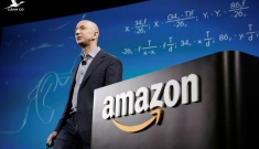 Tỉ phú Jeff Bezos bất ngờ rời ghế CEO Amazon